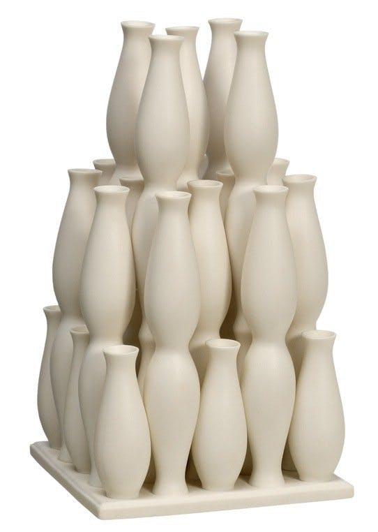 Håndlavet porcelænsvase