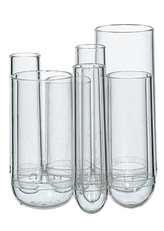 Vase opdelt i syv rum