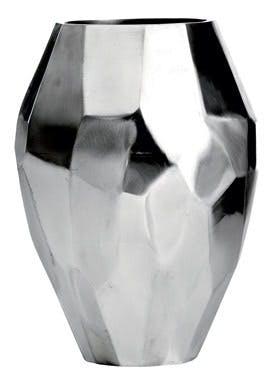 Vase i aluminium