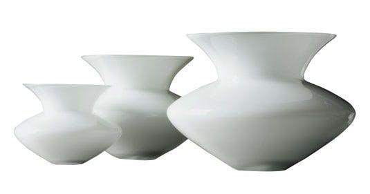 Glasvaser, designet af Alev Siesbye