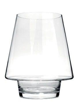 Glasvase i klart glas