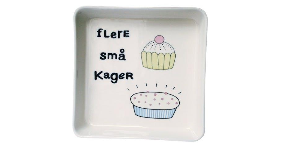 Fad/skål, Flere små kager