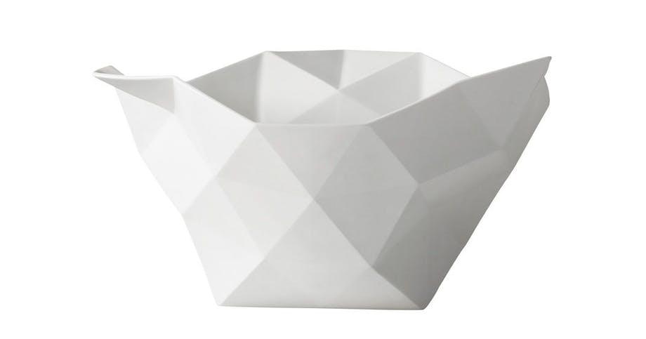 Crushed Large - hvid