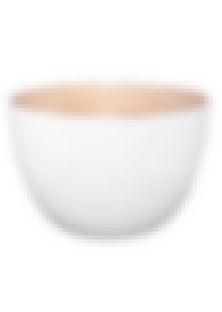Lakeret skål