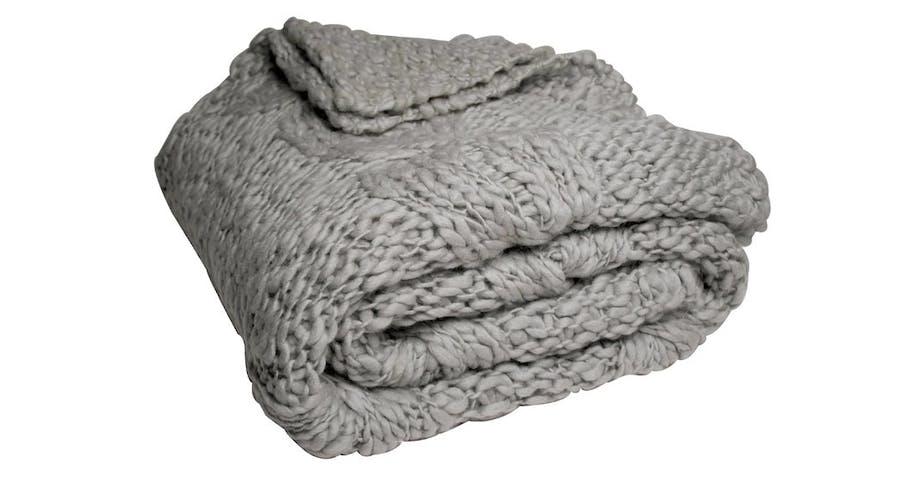 Plaid, Cable Knit