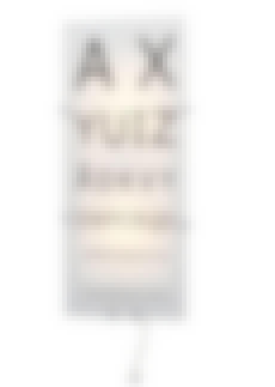 Væglampe/synstest, Gylden