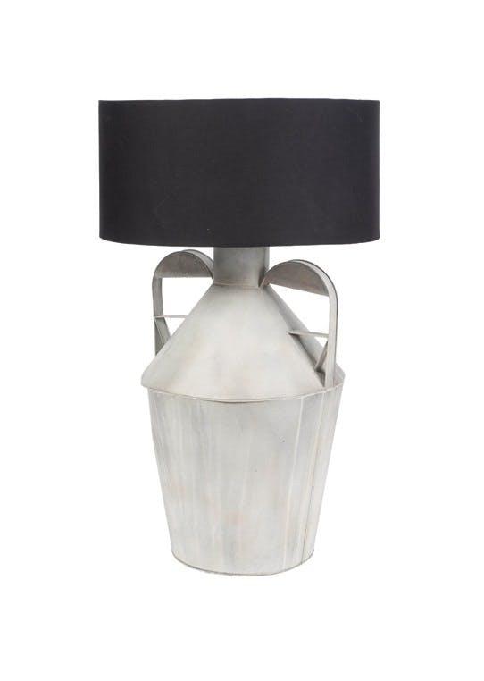 Bordlampe i zink