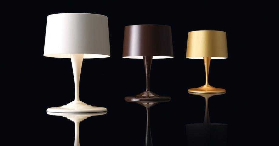 Chocolite-bordlampe