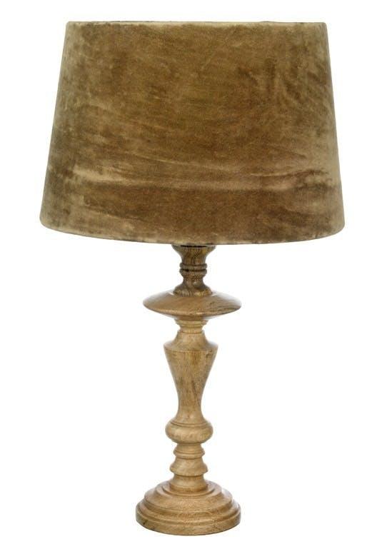 Bordlampe i mangotræ
