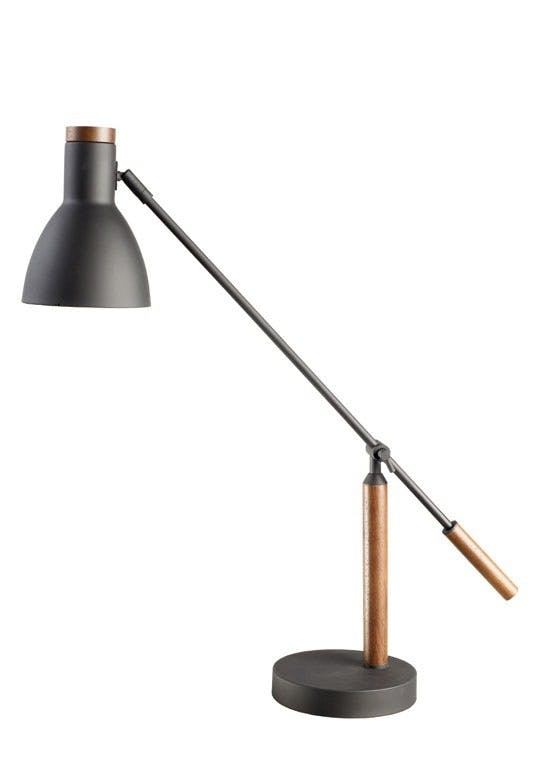 Bordlampe, Wallnut