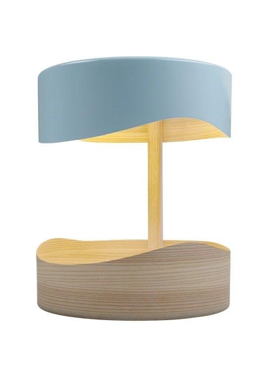 Bordlampe, organisk og geometrisk