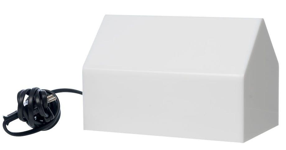 Bordlampe i opalplexiglas