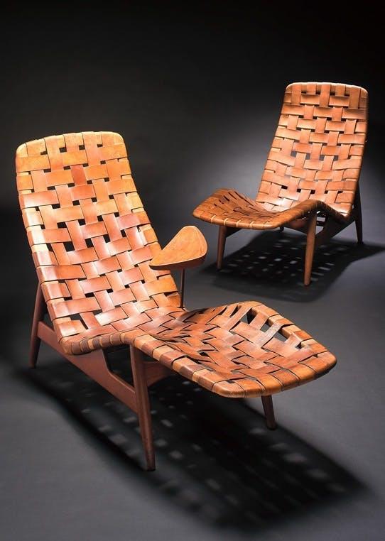Chaiselongue af Arne Vodder