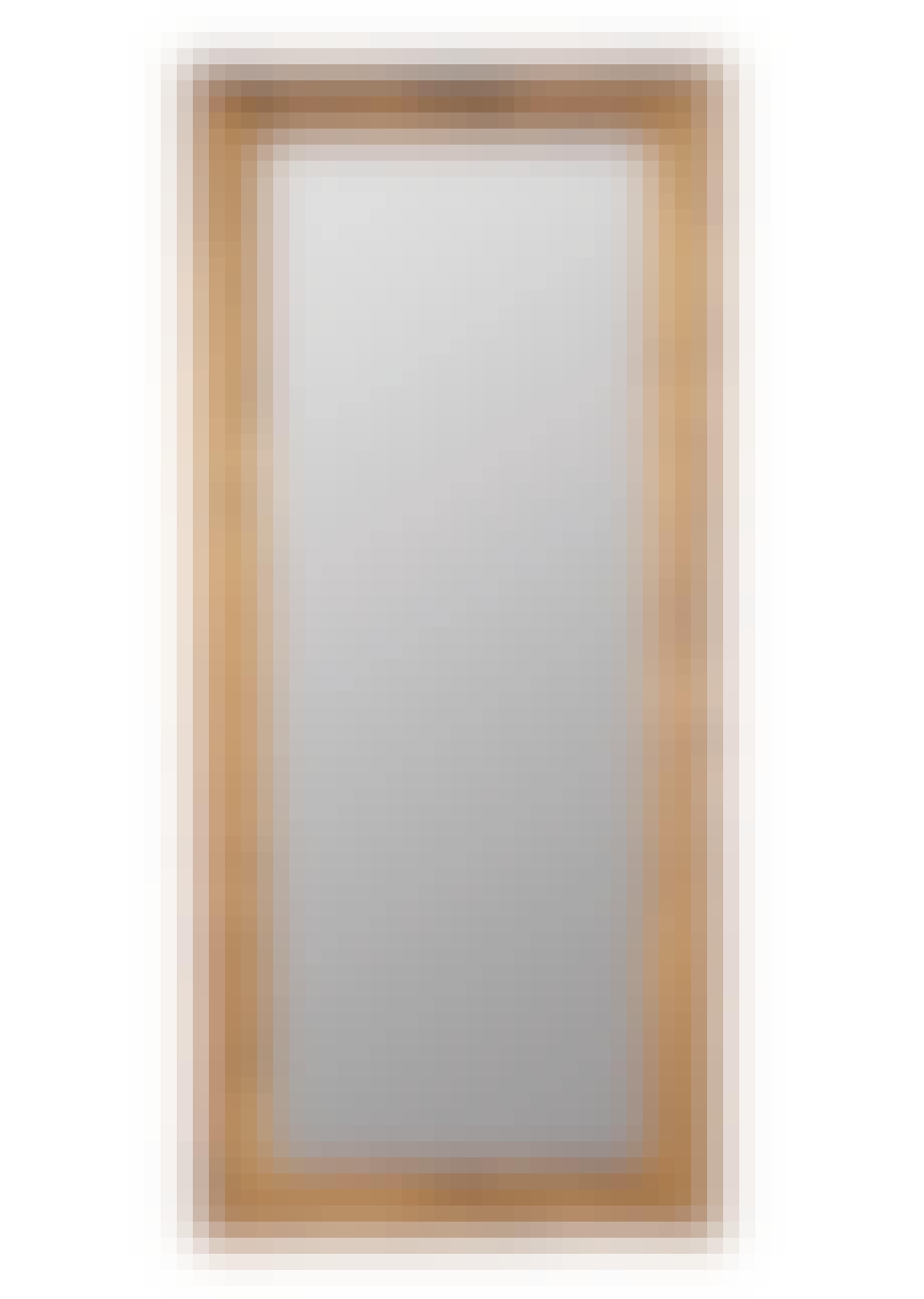 Et stort spejl