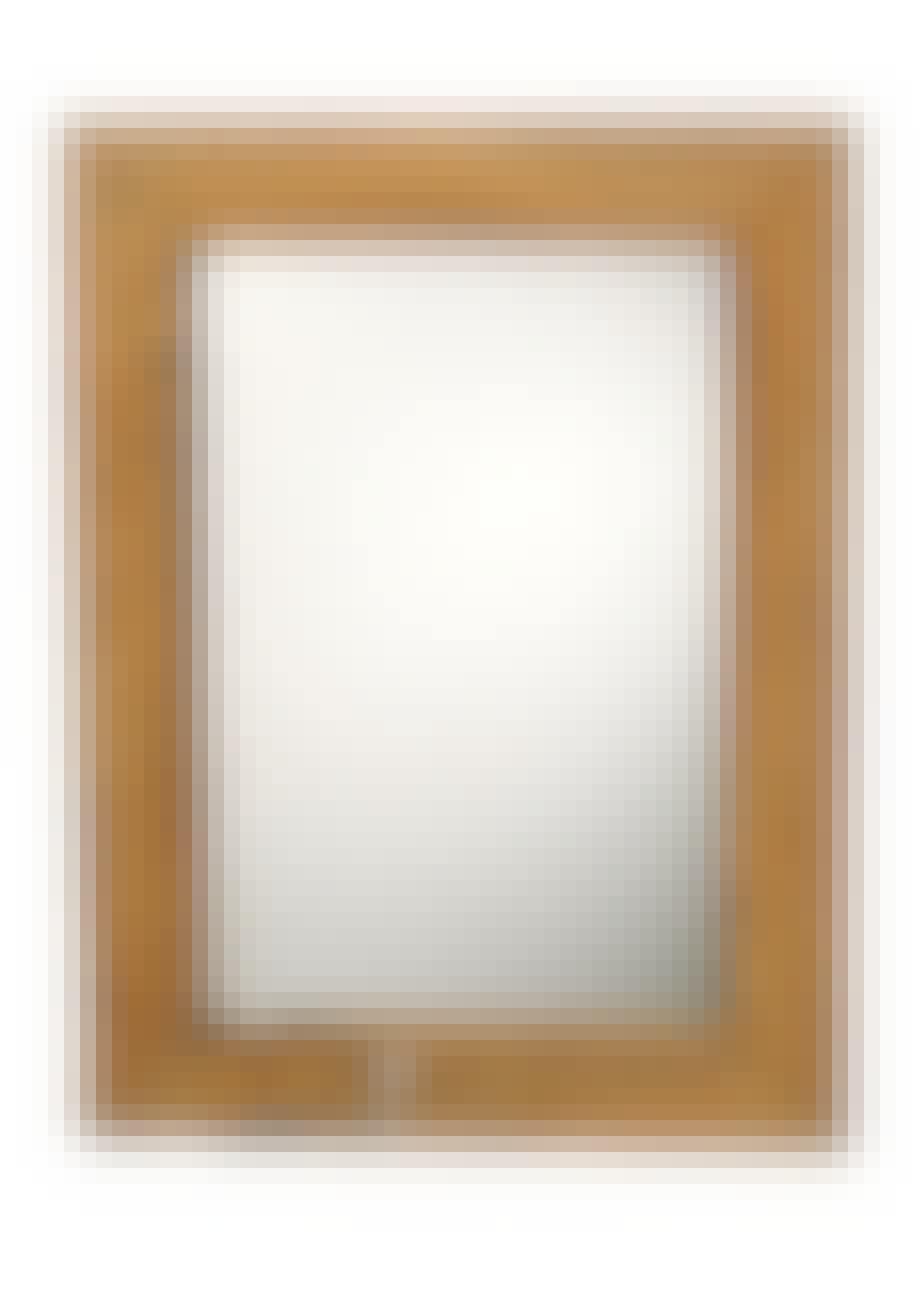 Spejl i drivtømmer