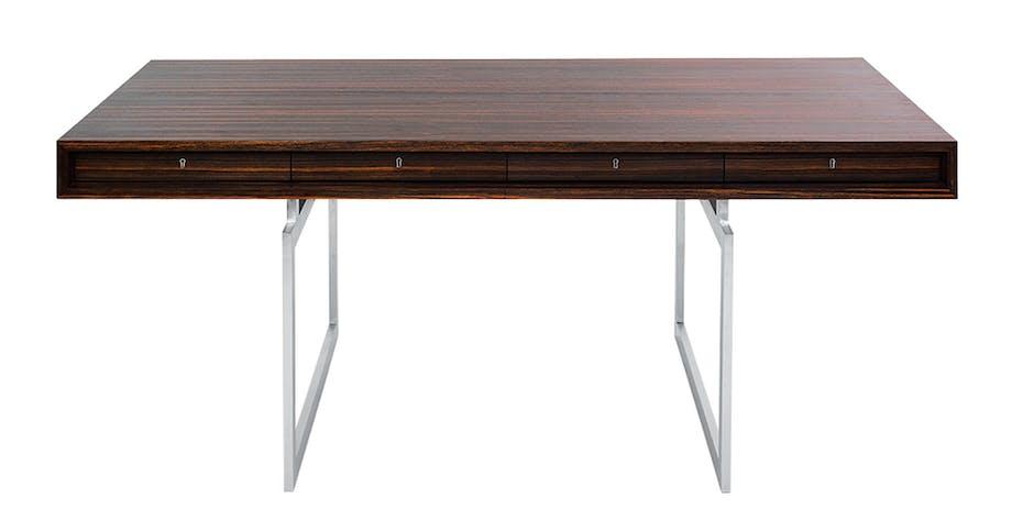 Møbler: Skrivebord af Bodil Kjær, 1959.