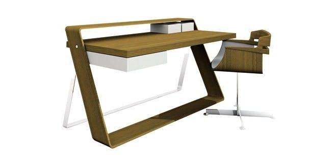 Møbler: Skrivemøblet Bulego