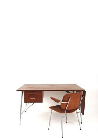 Møbler: Børge Mogensen - Skrivebord og stol