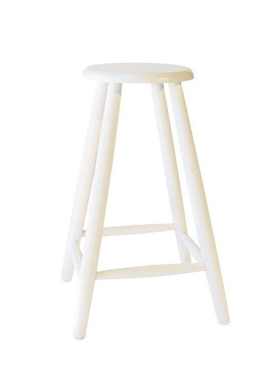 Møbler: Skammel i træ