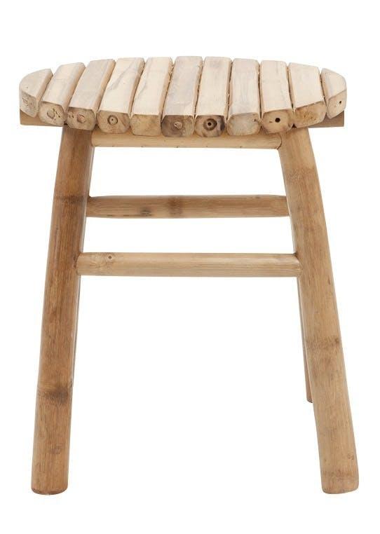 Taburet i bambus