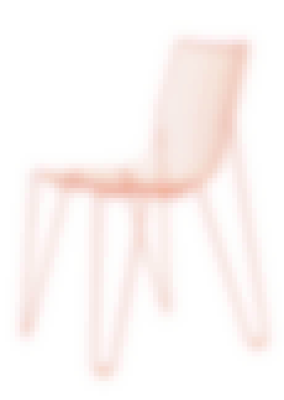 Fin trådstol, Tio Chair
