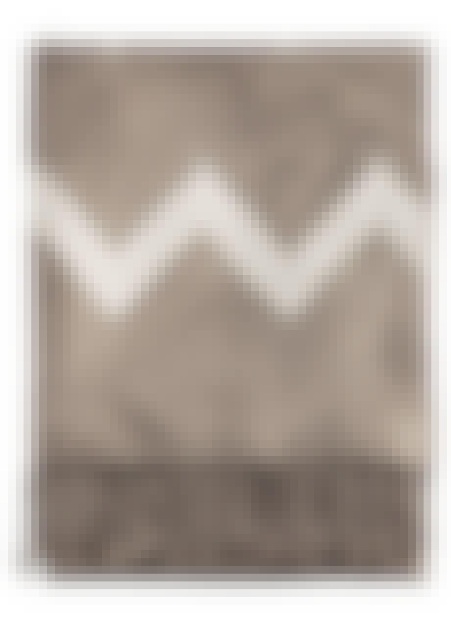 Mulvarpefarvet plaid