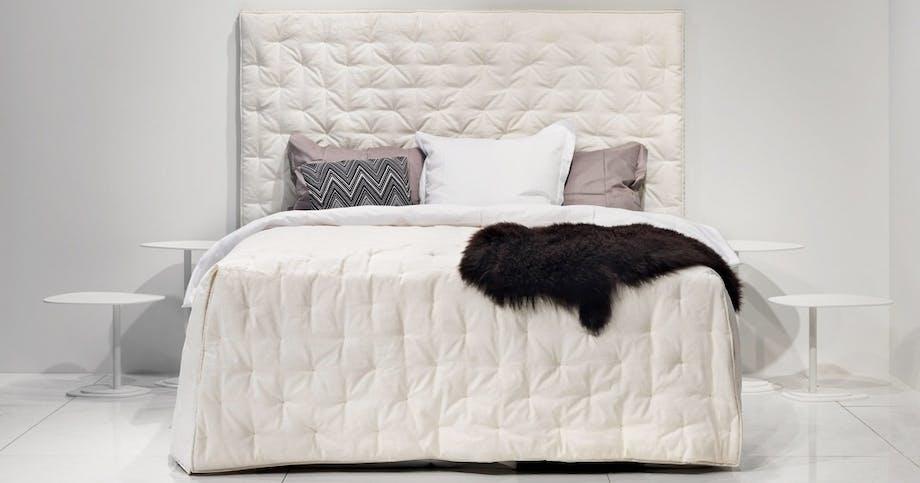 En smuk sengegavl