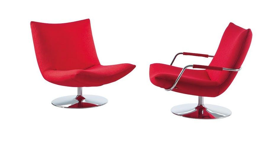 Blød loungestol, Gerard