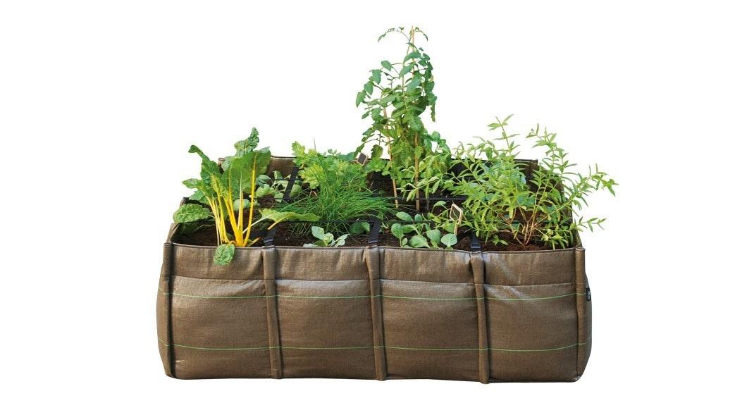 Planter på terrassen