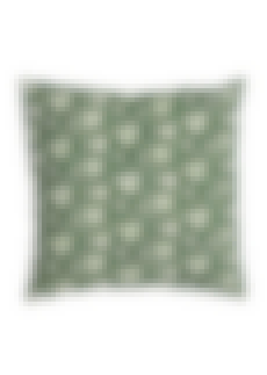 Mønstret pude