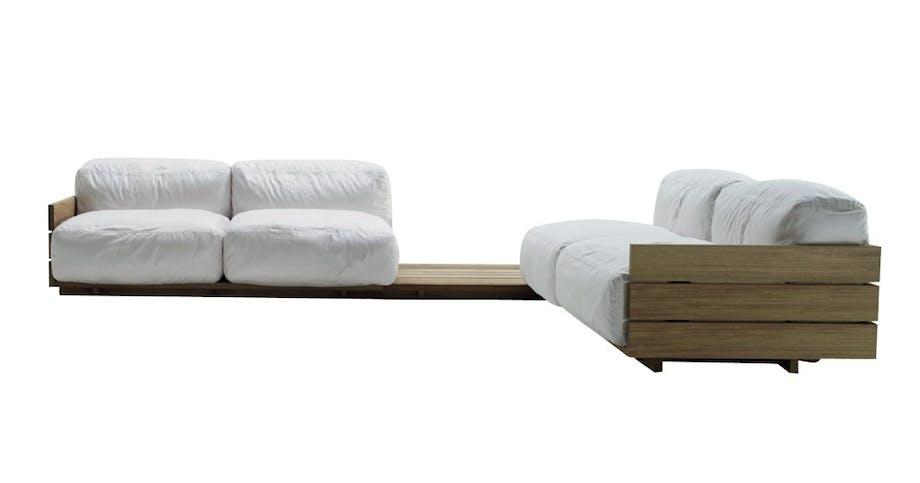 Lækkert og eksklusivt sofasystem til uderummet