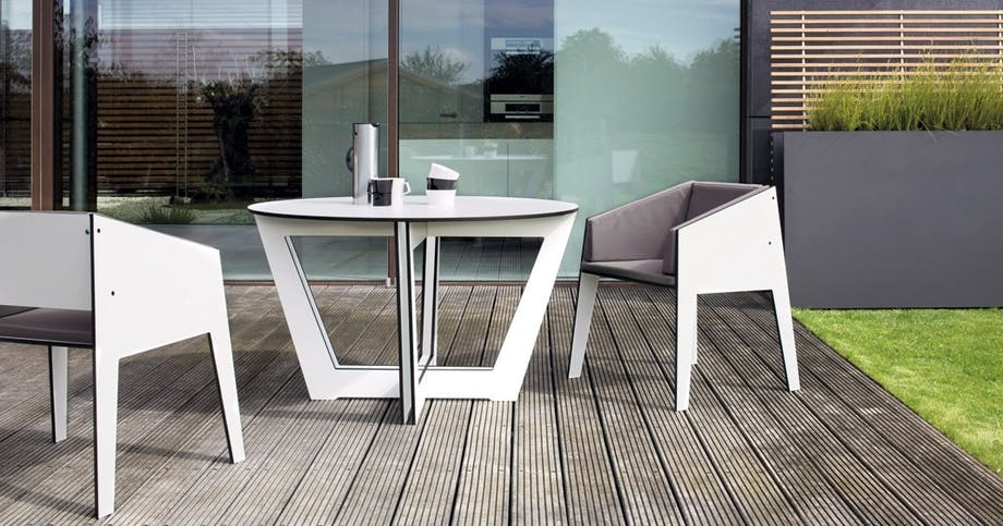 Modigt design til terrassen, Riva