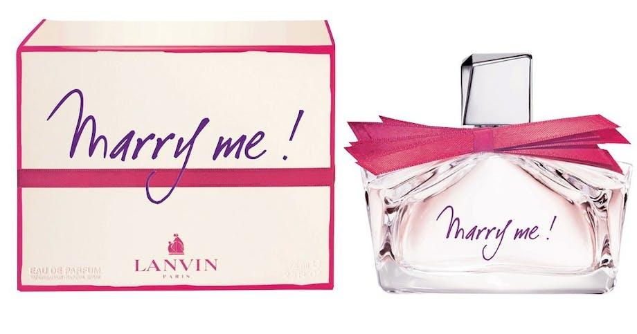 Parfume, Marry me fra Lanvin