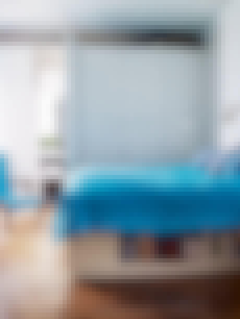 Simone Bendix' soveværelse