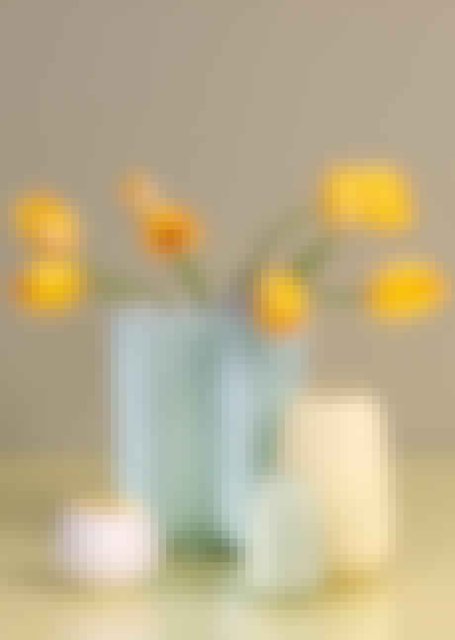 Stilleben, vase, Flowers