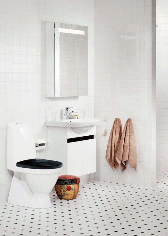 Er man til et helt enkelt og klassisk bad