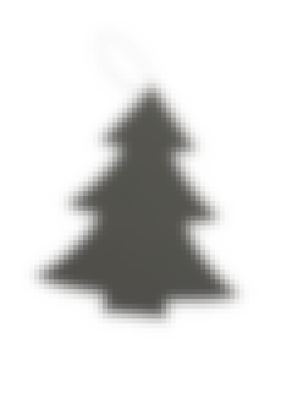 Juletræ i metal