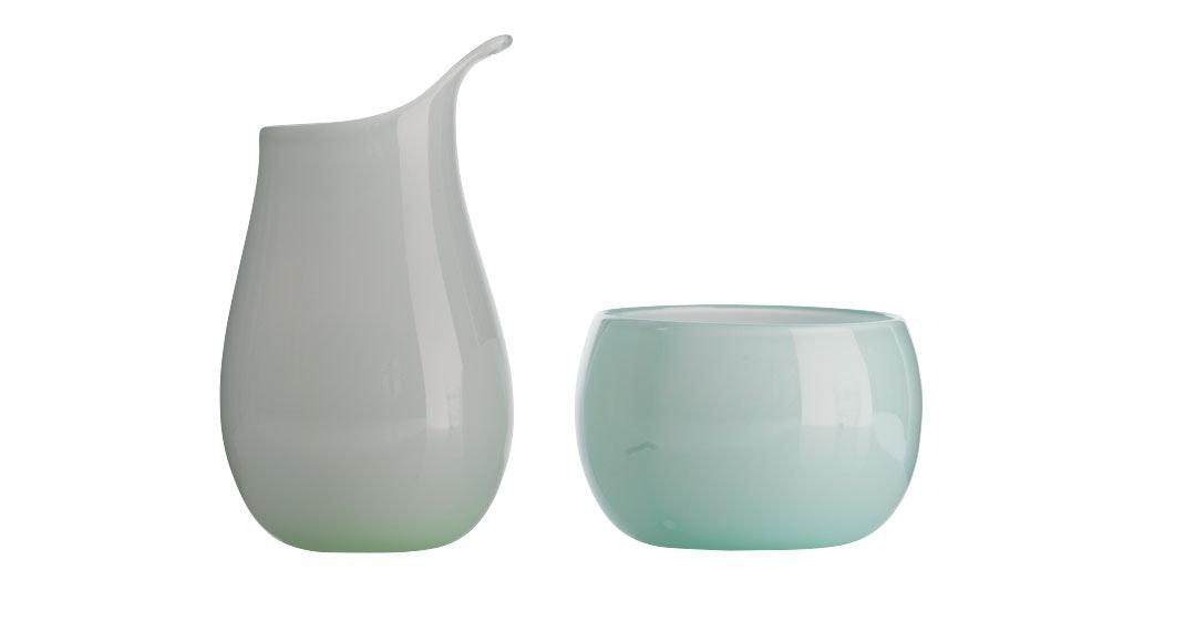 Glas med personlighed