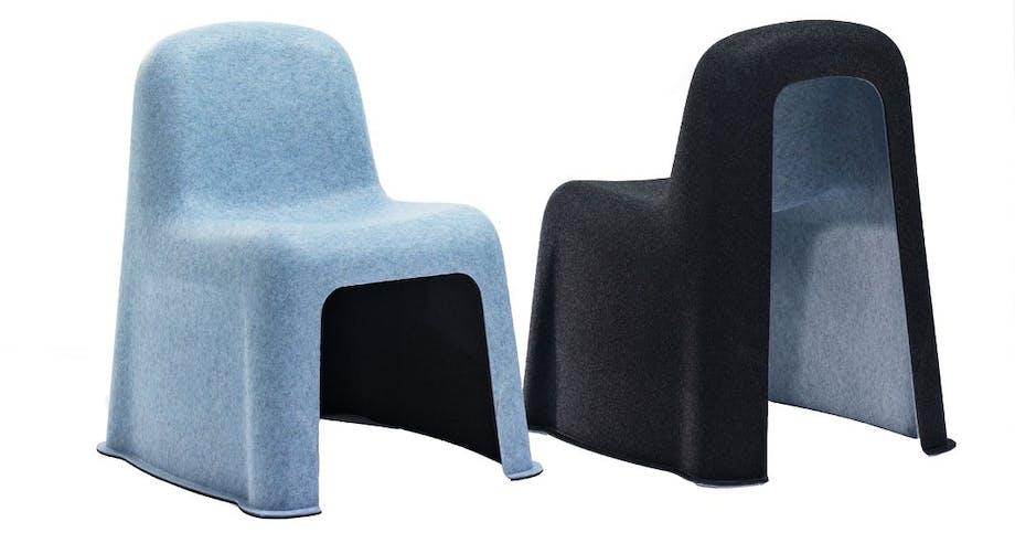 Fra plasticflaske til Nobody Chair