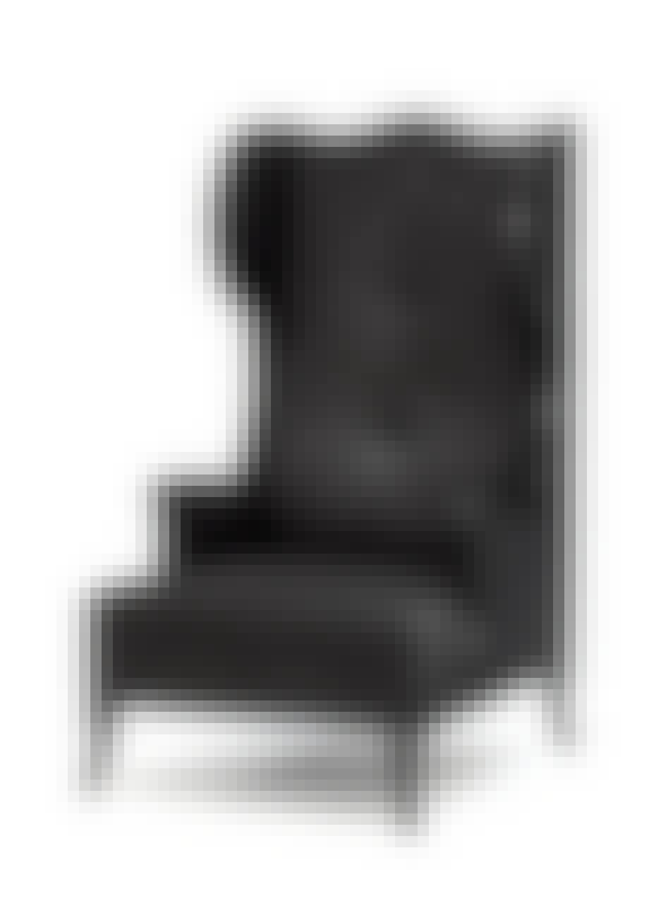 Bllack Raven høj stol