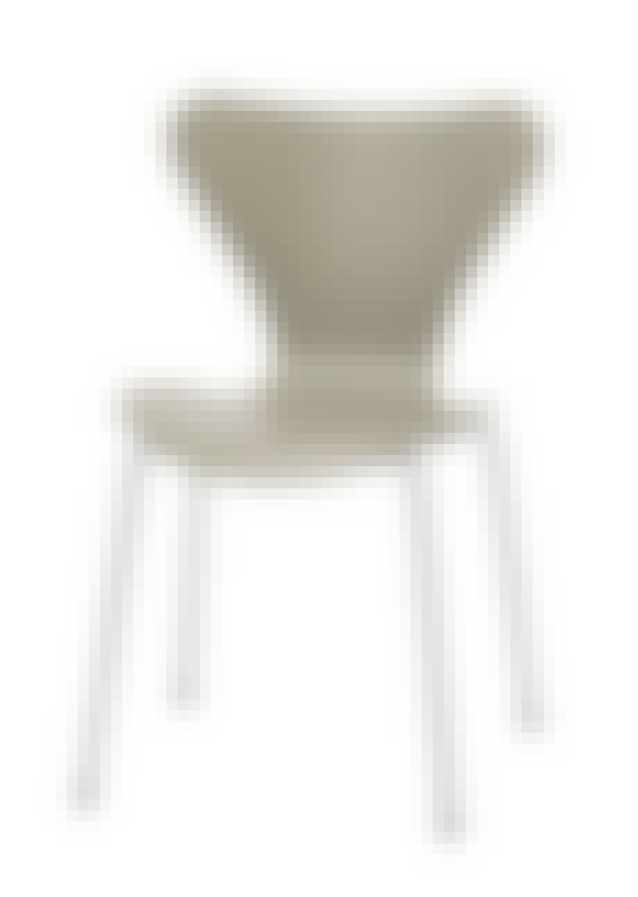 Stol i lamineret, formpresset finér
