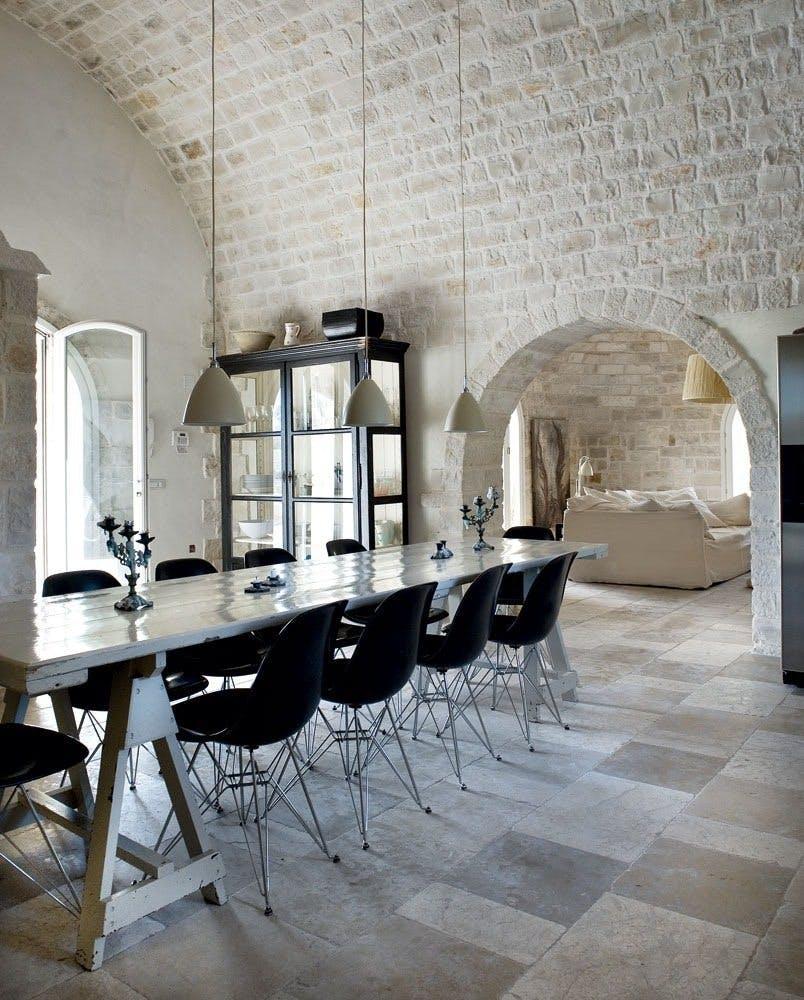 Eames-stole i glasfiber