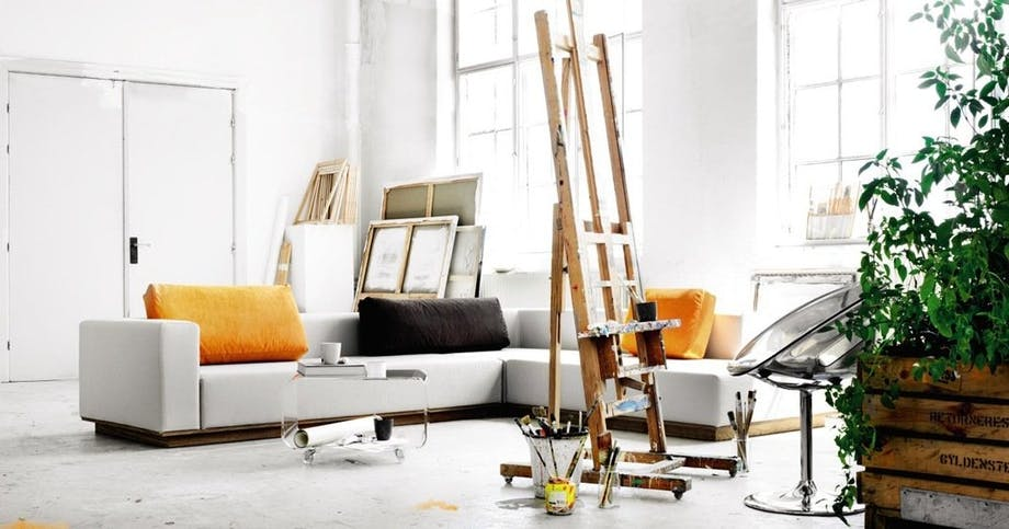 Design din egen sofa