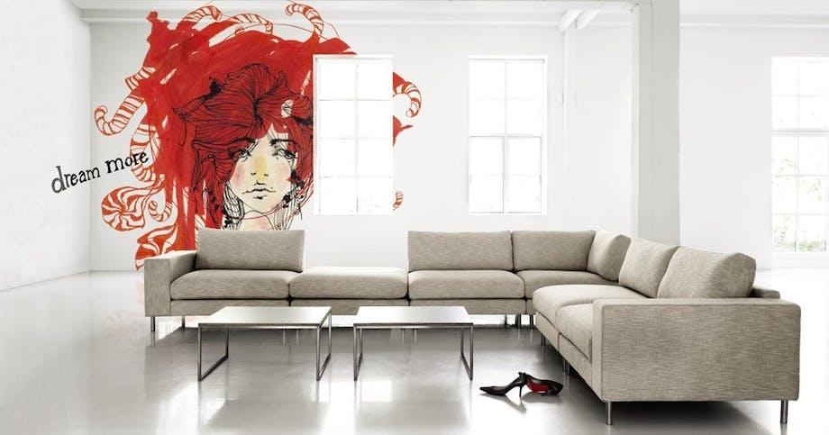 Komfortabel loungestil