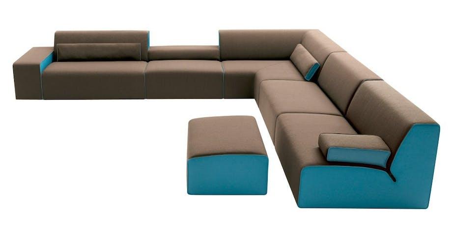 Møbler: Kombi-sofa