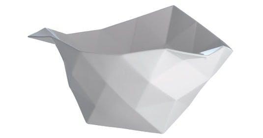 Håndlavet skål, Crushed Bowl