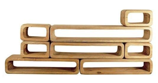 Møbler: Modulopbygget reol