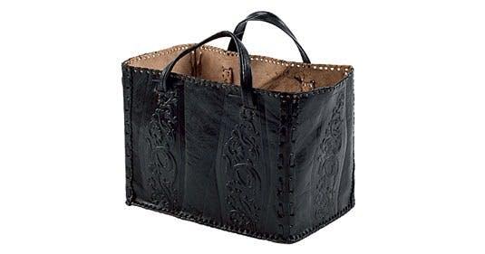 Lædertaske, fx til opbevaring