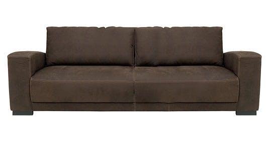 Helt enkel trepersoners sofa