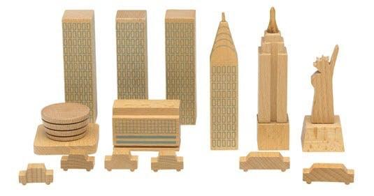 Træfigurer, City in a Bag